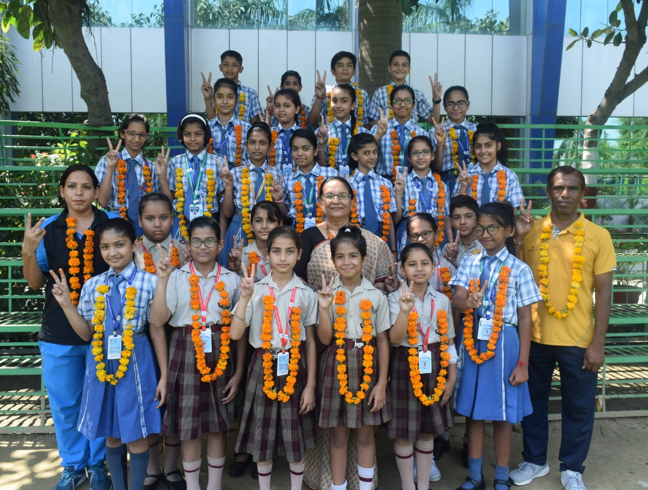 Little Angels School wins 31Gold, 16 Silver & 6 Bronze Medals in District Level Gymnastics Championship