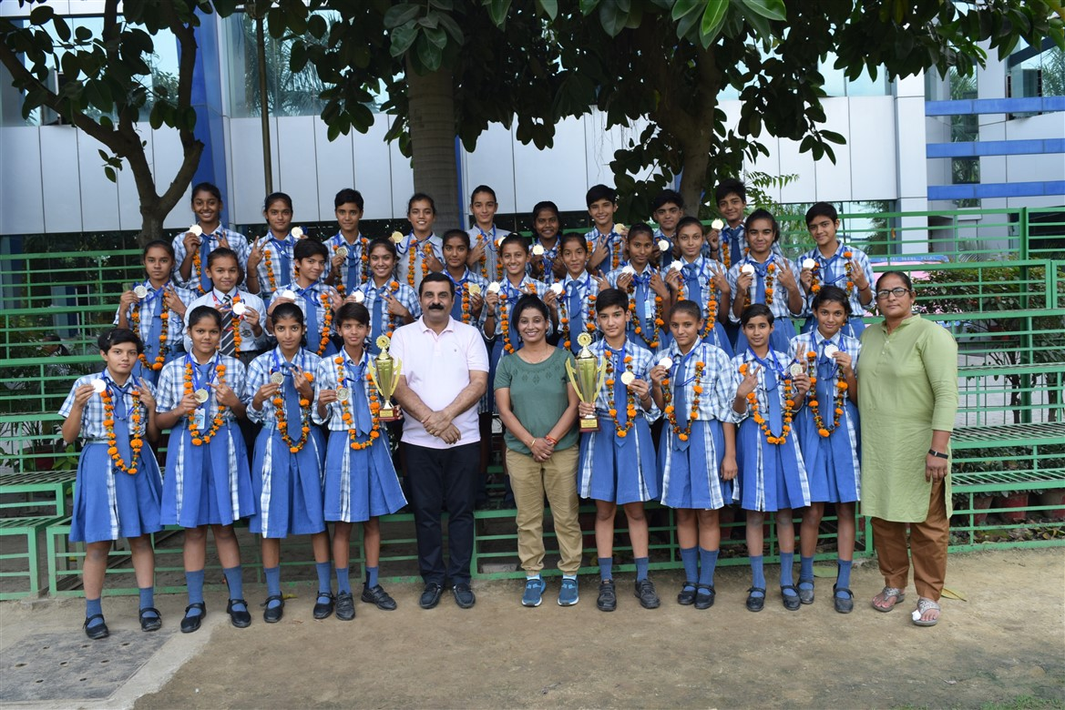 Players of Little Angels School, Sonipat Shone with Flying Colours in CBSE North Zone Hockey Championship