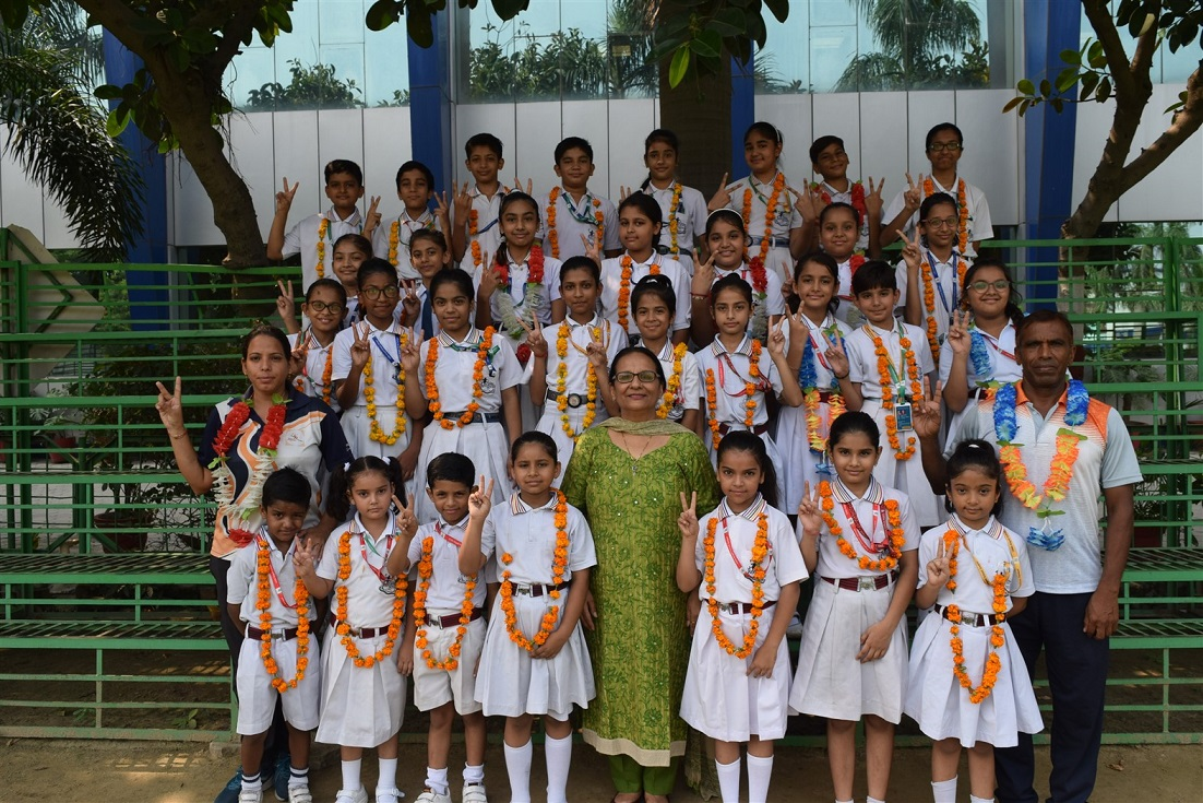 Little Angels won 12 Gold12 Silver and 10 Bronze Medals at District Level Inter-Center Championship